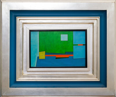 Gunther Gerzso, 'Blanco Verde Azul ', 1982