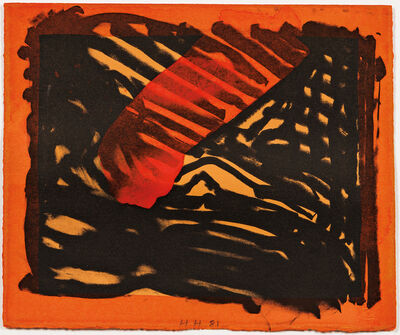 Howard Hodgkin, 'Red Eye', 1980-81
