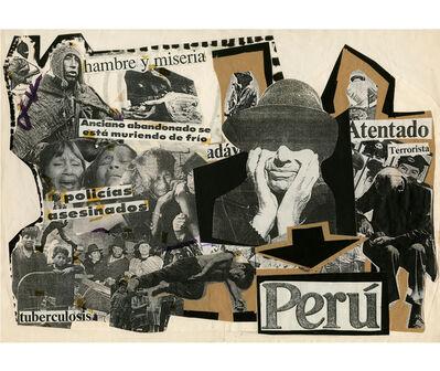 Herbert Rodríguez, 'Perú, violencia', 1987-1988
