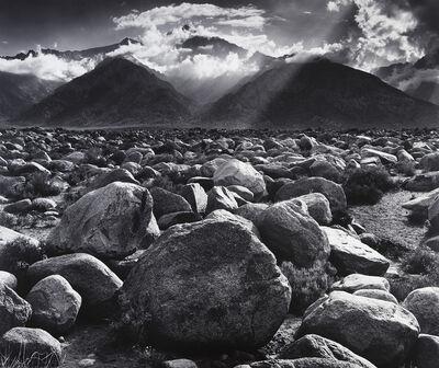 Ansel Adams, 'Mount Williamson from Manzanar', 1944
