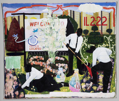 Kerry James Marshall, 'Many Mansions', 1994