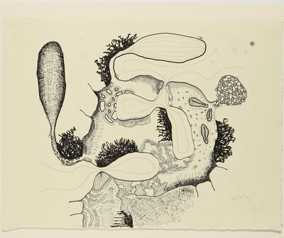 Carroll Dunham, 'Untitled (12.4.90)', 1990