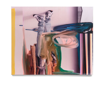 Andreas Diefenbach, 'Superposition (So laufen, dass es läuft)', 2019