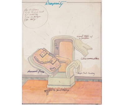 Rafael Hastings, 'Prosperity. De la serie Dibujos Mentales ', 1967-1978