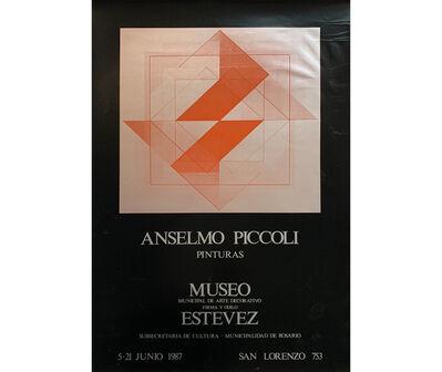 Anselmo Piccoli, 'Anselmo Piccoli. Pinturas', 1987