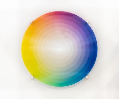 Felipe Pantone, 'Subtractive Variability Circular#7', 2020