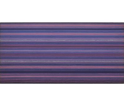 Mercedes Esteves, 'Blue Flash Line', 1975