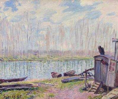 Alfred Sisley, 'Bords du Loing', 1890
