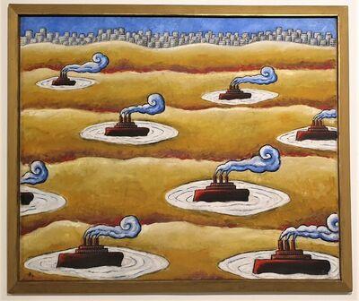 Jacques Tange, 'Waiting for rain', 1995