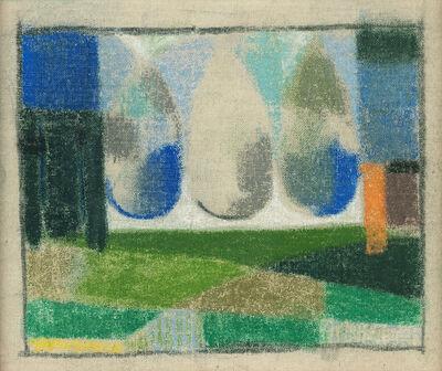 Armando Barrios, 'Boceto paisaje del Tevere', undated