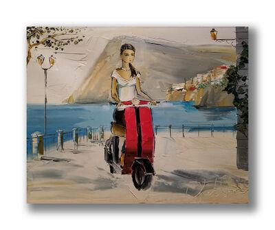 Chuck Joseph, 'Scooting Through Amalfi', 2020
