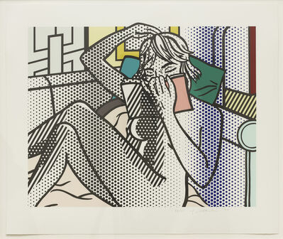 Roy Lichtenstein, 'Nude Reading (C. 288)', 1994