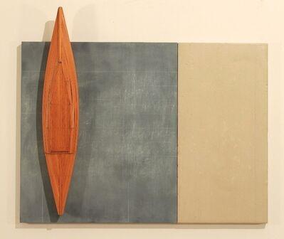David Ruddell, 'Blackboard--Cement Board--Fir Boat', 2008