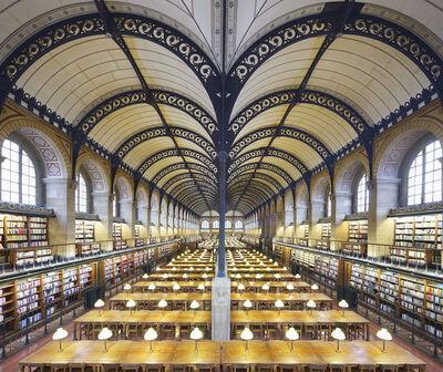 Reinhard Gorner, 'Sainte-Geneviève library, Paris', 2018
