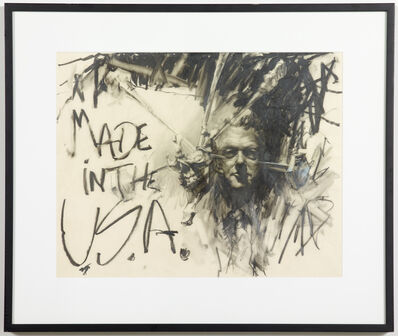 Ed Bereal, 'Wild Bill AND Miss A.  (Made in the U.S.A)', 2001