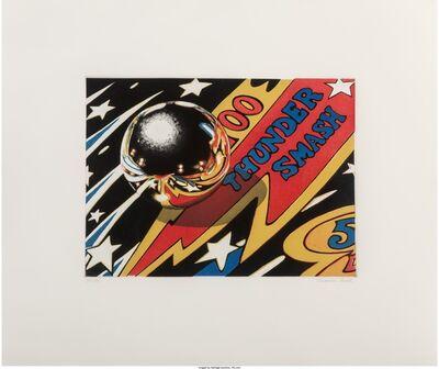 Charles Bell, 'Thunder Smash Fragment', 1988