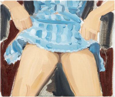 Gideon Rubin, 'Blue Skirt', 2019