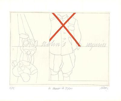 Valerio Adami, 'Les blessures de Staline / Stalin's Injuries', 1975
