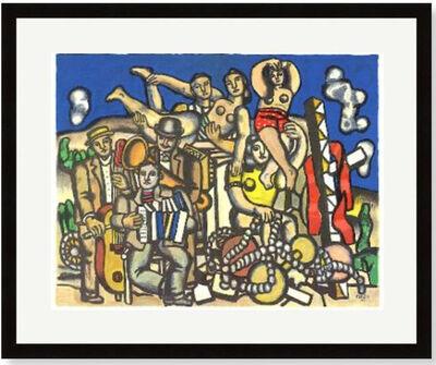 Fernand Léger, 'Les Musiciens', ca. 1955