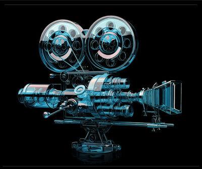 Jeff Bartels, 'Glass Silent Movie Camera', 2019