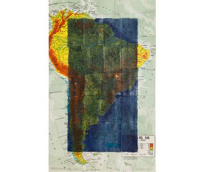 Horacio Zabala, 'Obstrucción del Sur II', 1974