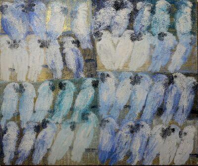 Hunt Slonem, 'Cockatoos White', 2010