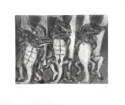 Francisco Toledo, '8 Dancing Crocodiles (8 cocodrilos bailando)', 2018