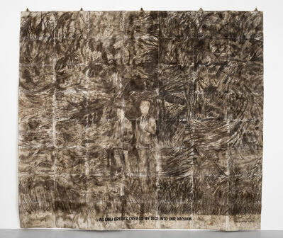 Gilbert and George, 'As day breaks over us we rise into our vacuum', 1971