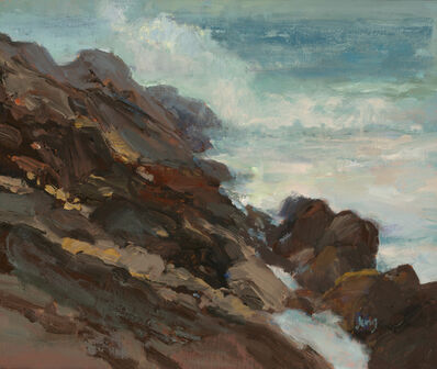 Michelle Jung, 'Rocky Slope', 2020