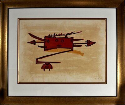"""Wifredo Lam, '""""El Ultimo Viaje Del Buque Fantasma""""', 1976"""