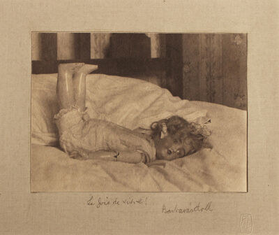 "Frederick Henry Evans, '""La Joie de Vivre! Barbara's Doll""', c.1900's"