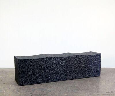 John Eric Byers, 'Block Bench for Three'