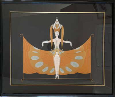 Erté (Romain de Tirtoff), 'The Hindu Princess', 1987
