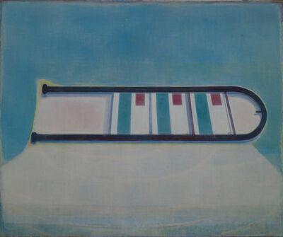 Tang Yongxiang, 'Like a bus stop sign', 2014