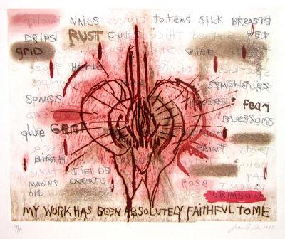Joan Snyder, 'My Work', 1997
