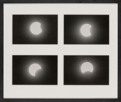 Bill Peters, '[ECLIPSE] Four images of the solar eclipse of September 11, 1969'