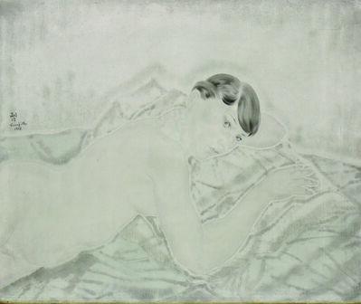 Léonard Tsugouharu Foujita, 'Nu allonge sur le ventre', 1927