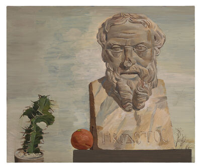 Kent O'Connor, 'Bust of Herodotus (Met Museum)', 2019