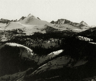 Ansel Adams, 'The Abode of Snow', ca. 1927