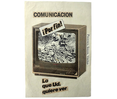 Herbert Rodríguez, 'Pucayacu, Soccos, Vinchos, ¡lo que Ud. quiere ver!', 1986