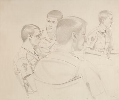 Alex Katz, 'Soldiers', 1981