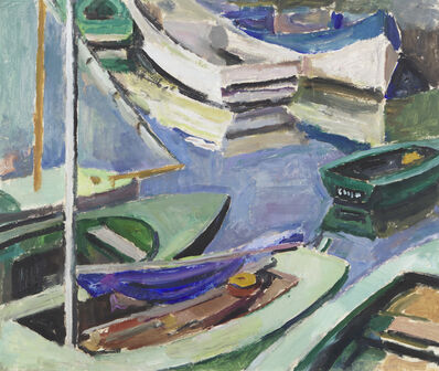 Mildred Bendall, 'Barques', ca. 1935