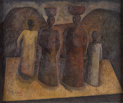 Carlos Orozco Romero, 'Untitled (Four Women)', 1932