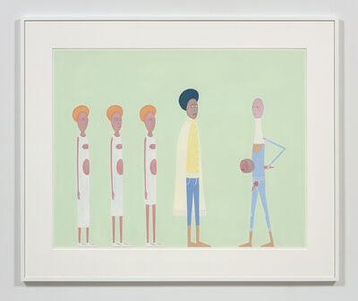 Laylah Ali, 'Untitled (Acephalous series)', 2015