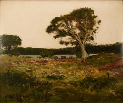 Franklin De Haven, 'Oak at Dusk', 1901