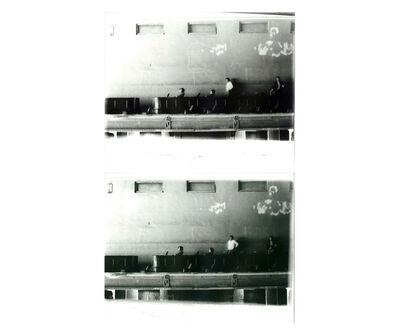 Miguel Angel Rojas, 'Camisa blanca (Diptych)', 1979