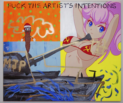 Michael Pybus, 'Fuck the artist intentions', 2019