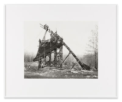 Bernd and Hilla Becher, 'Minnich Coal Co., Goodspring Mountains, Schuylkill County, USA', 1975