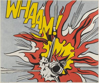 Roy Lichtenstein, 'Whaam!, diptych', 1967