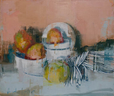 Joseph Adolphe, 'Mango Still Life no. 4', 2020